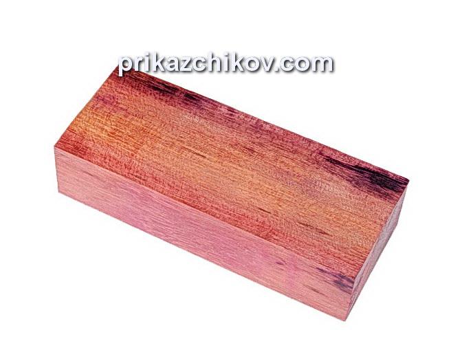 Амарант, брусок для рукояти ножа [Purpleheart]