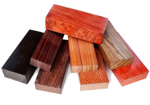 Материалы для изготовления рукоятей ножей
