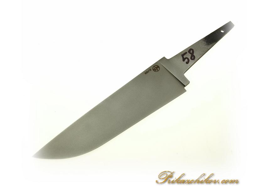 Клинок для ножа из кованой стали 95х18 N 58