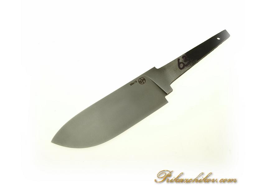 Клинок для ножа из кованой стали 95х18 N 63