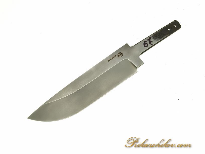 Клинок для ножа из кованой стали 95х18 N 67