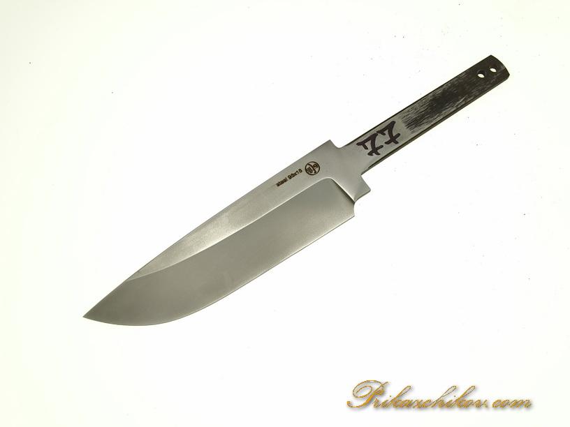 Клинок для ножа из кованой стали 95х18 N 77
