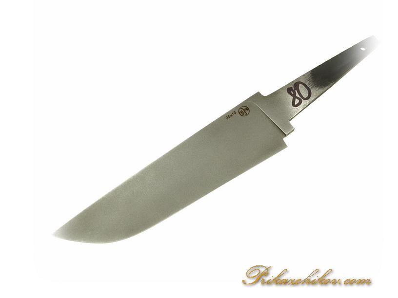 Клинок для ножа из кованой стали 95х18 N 80