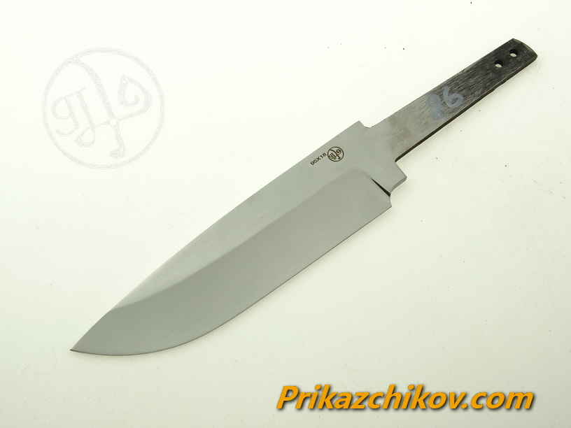 Клинок для ножа из кованой стали 95х18 N 86