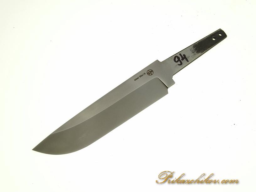 Клинок для ножа из кованой стали 95х18 N 94