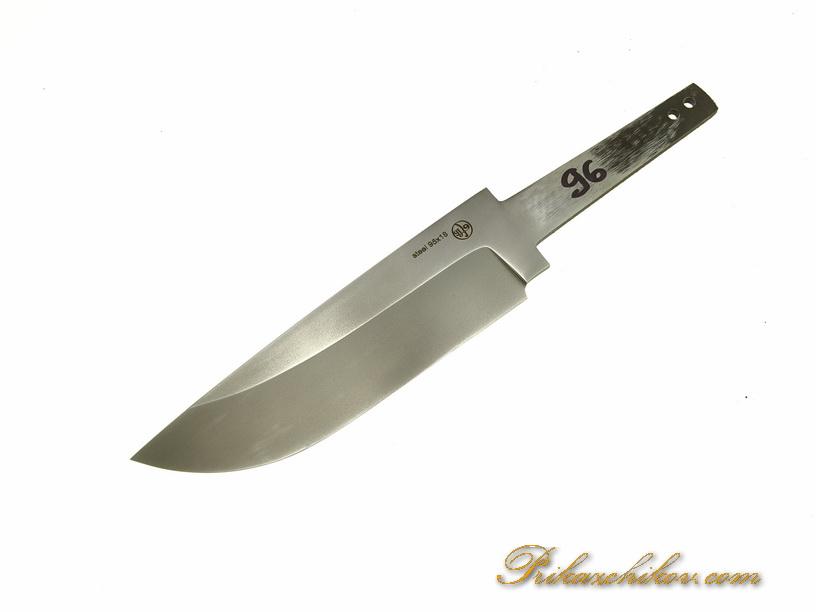 Клинок для ножа из кованой стали 95х18 N 96