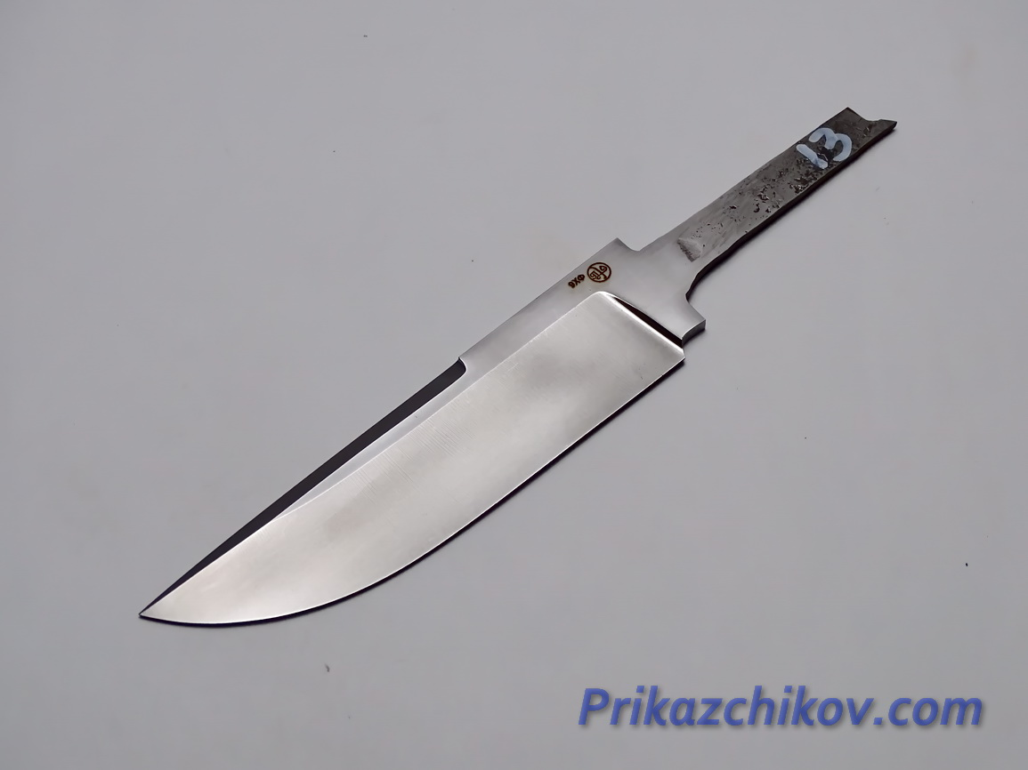 Клинок для ножа из кованой стали 9хф N 13
