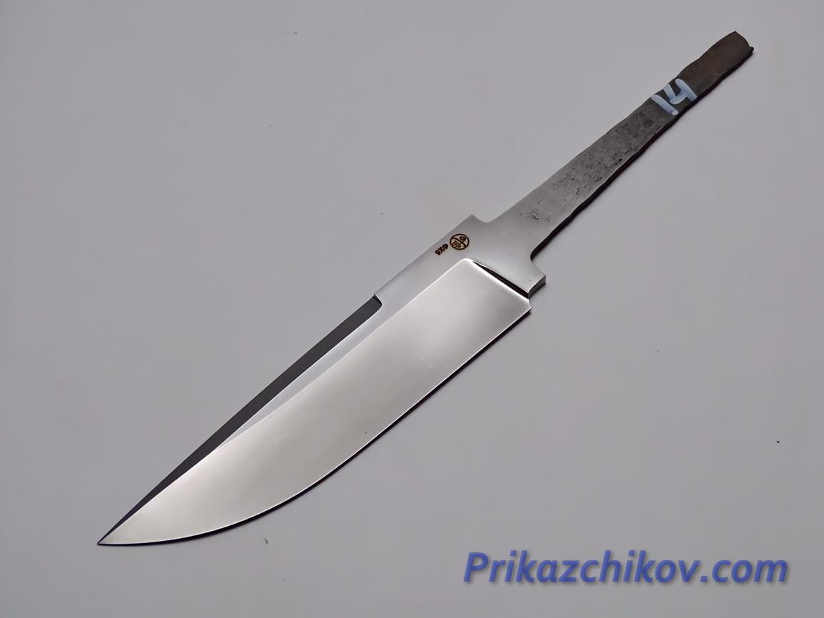 Клинок для ножа из кованой стали 9хф N 14