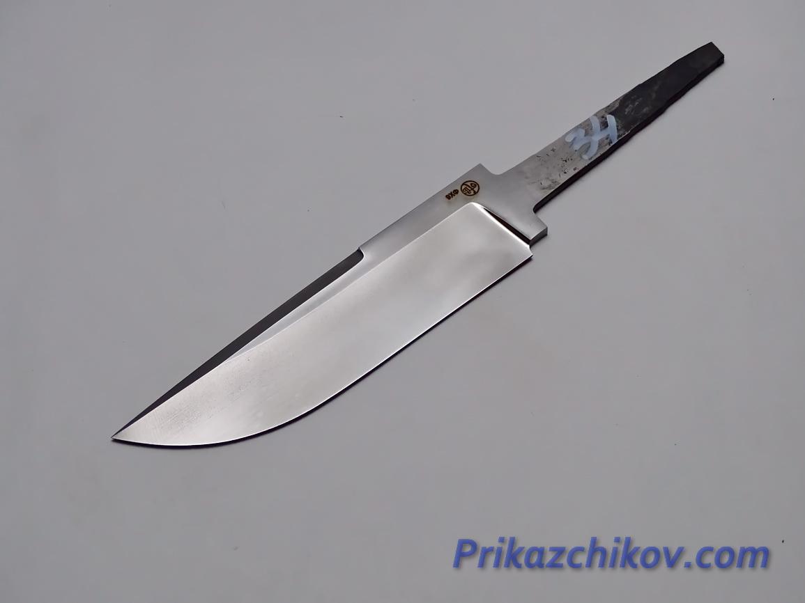 Клинок для ножа из кованой стали 9хф N 34