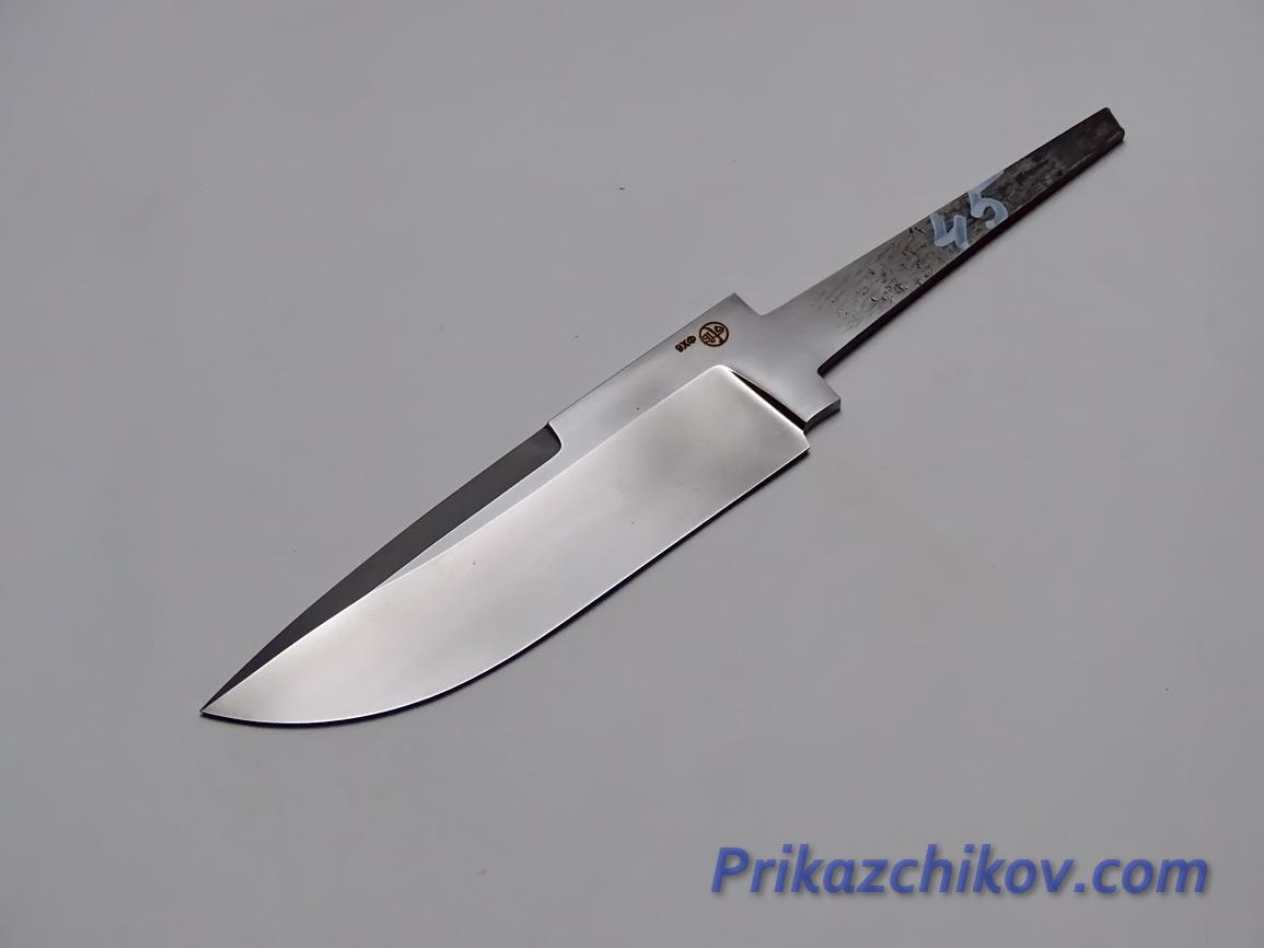 Клинок для ножа из кованой стали 9хф N 45