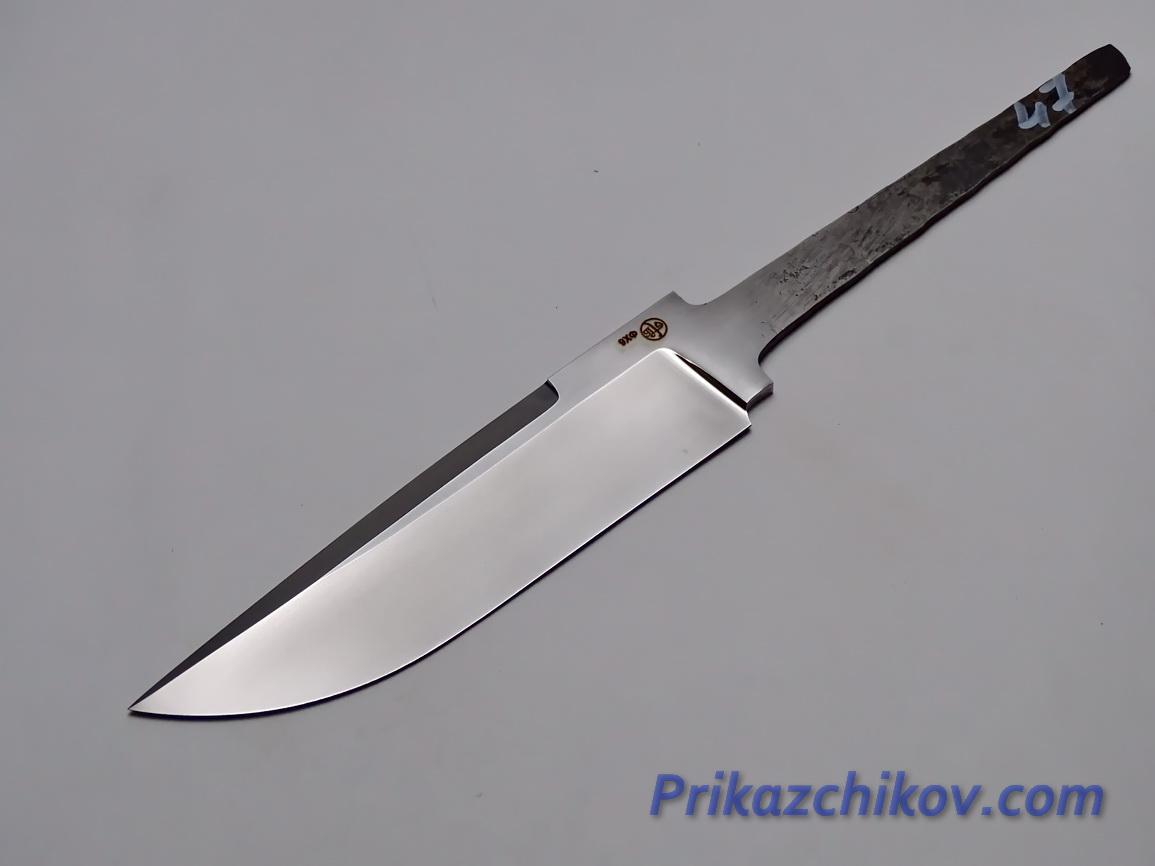 Клинок для ножа из кованой стали 9хф N 47