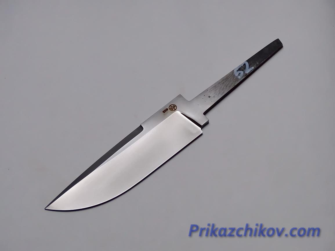 Клинок для ножа из кованой стали 9хф N 52