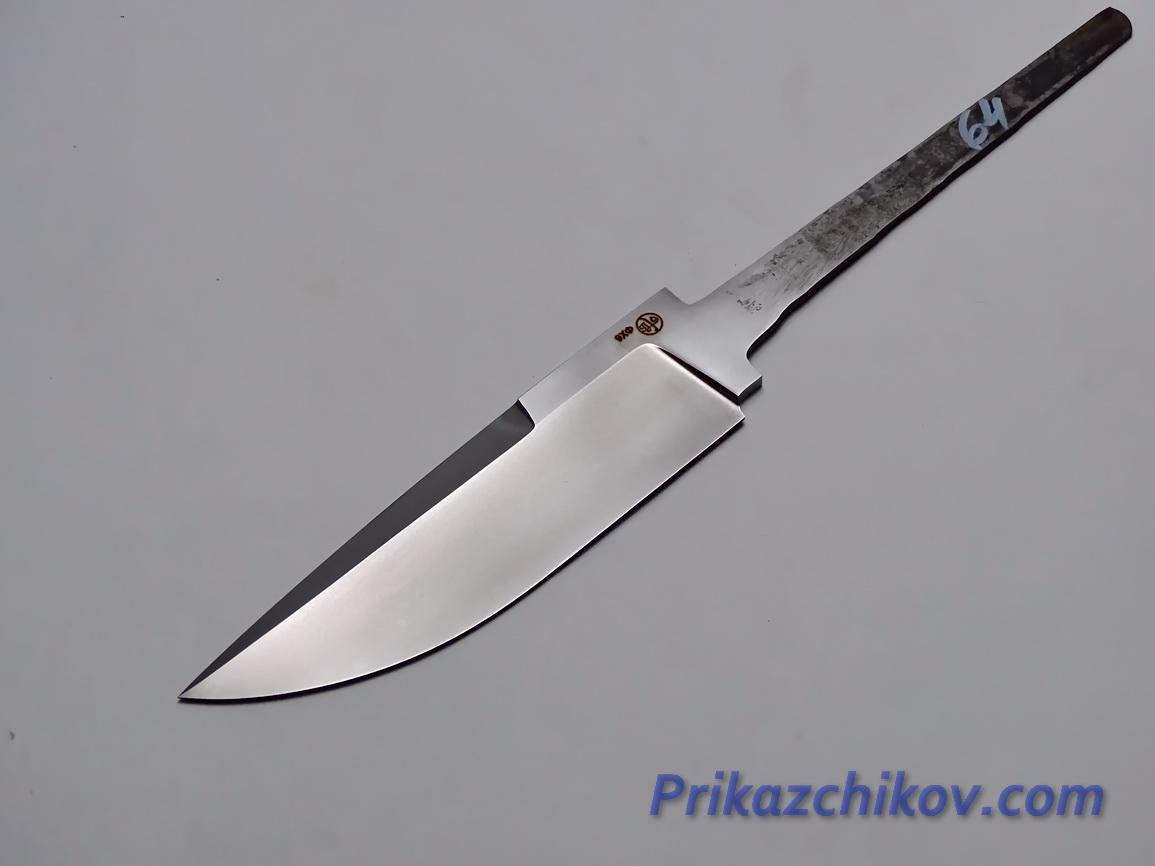 Клинок для ножа из кованой стали 9хф N 64