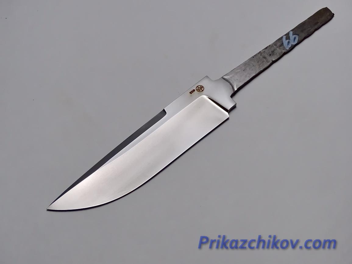 Клинок для ножа из кованой стали 9хф N 66