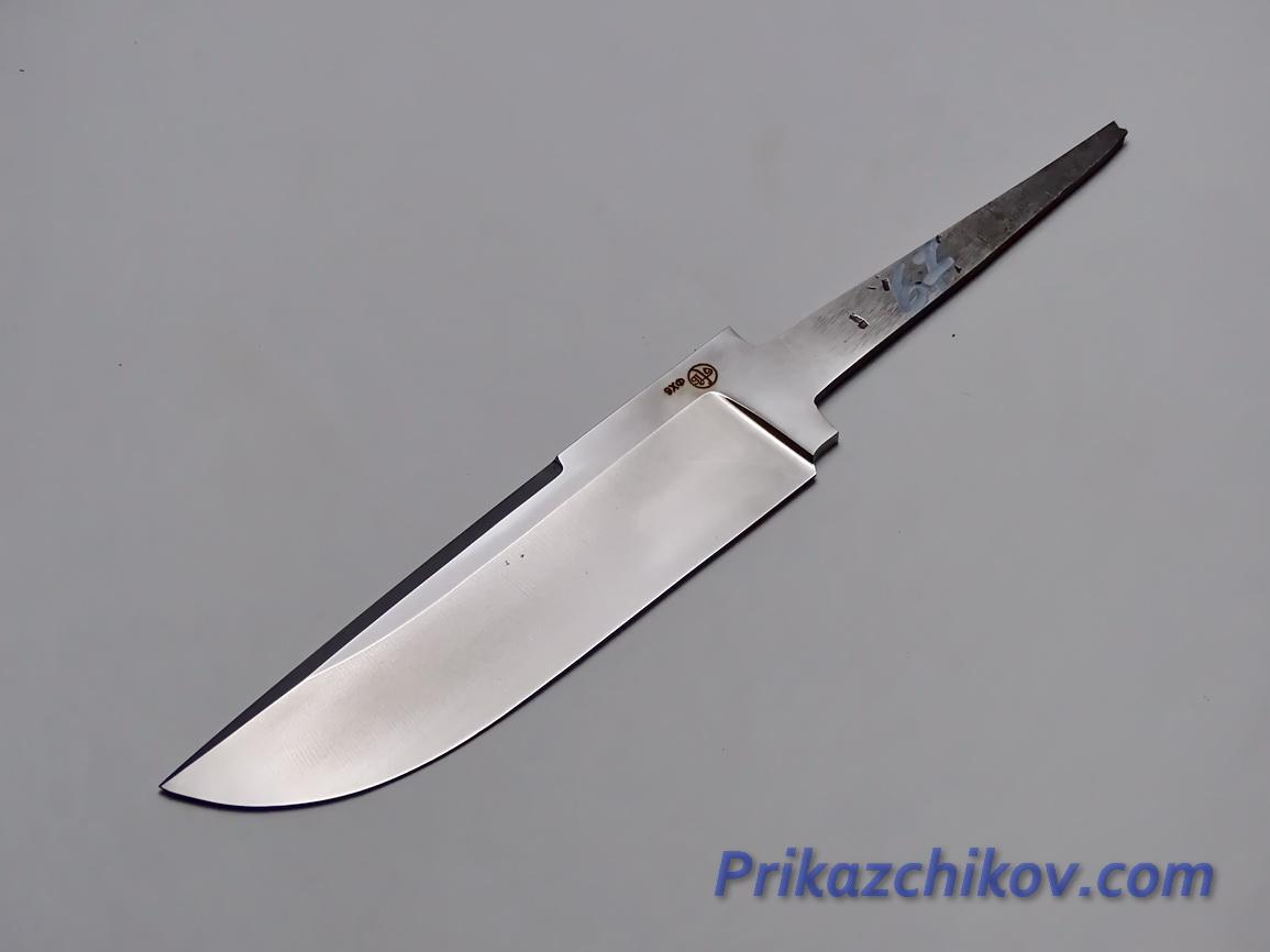 Клинок для ножа из кованой стали 9хф N 67