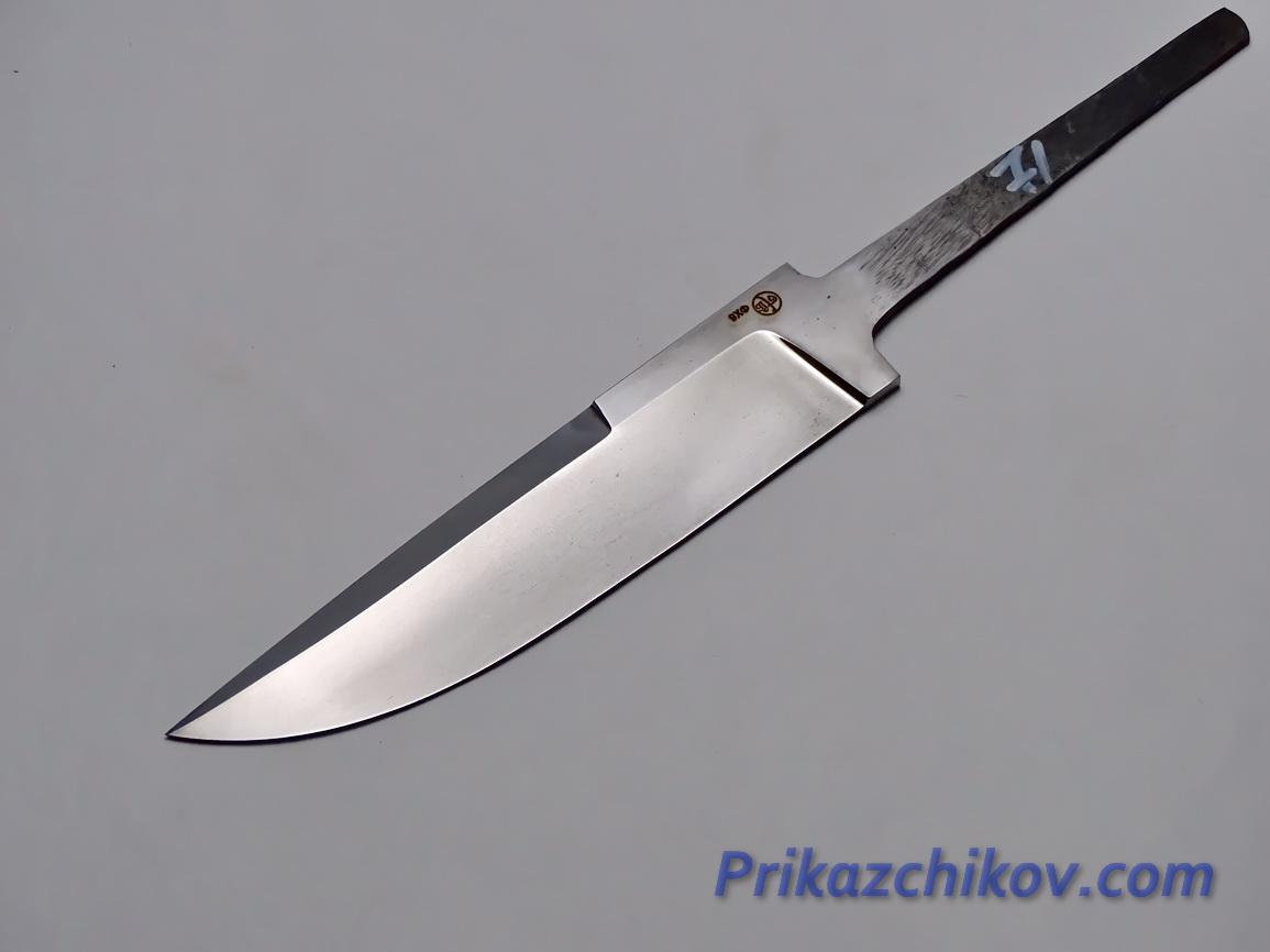 Клинок для ножа из кованой стали 9хф N 71