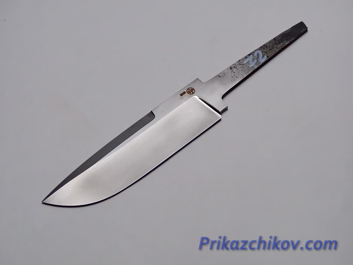 Клинок для ножа из кованой стали 9хф N 72