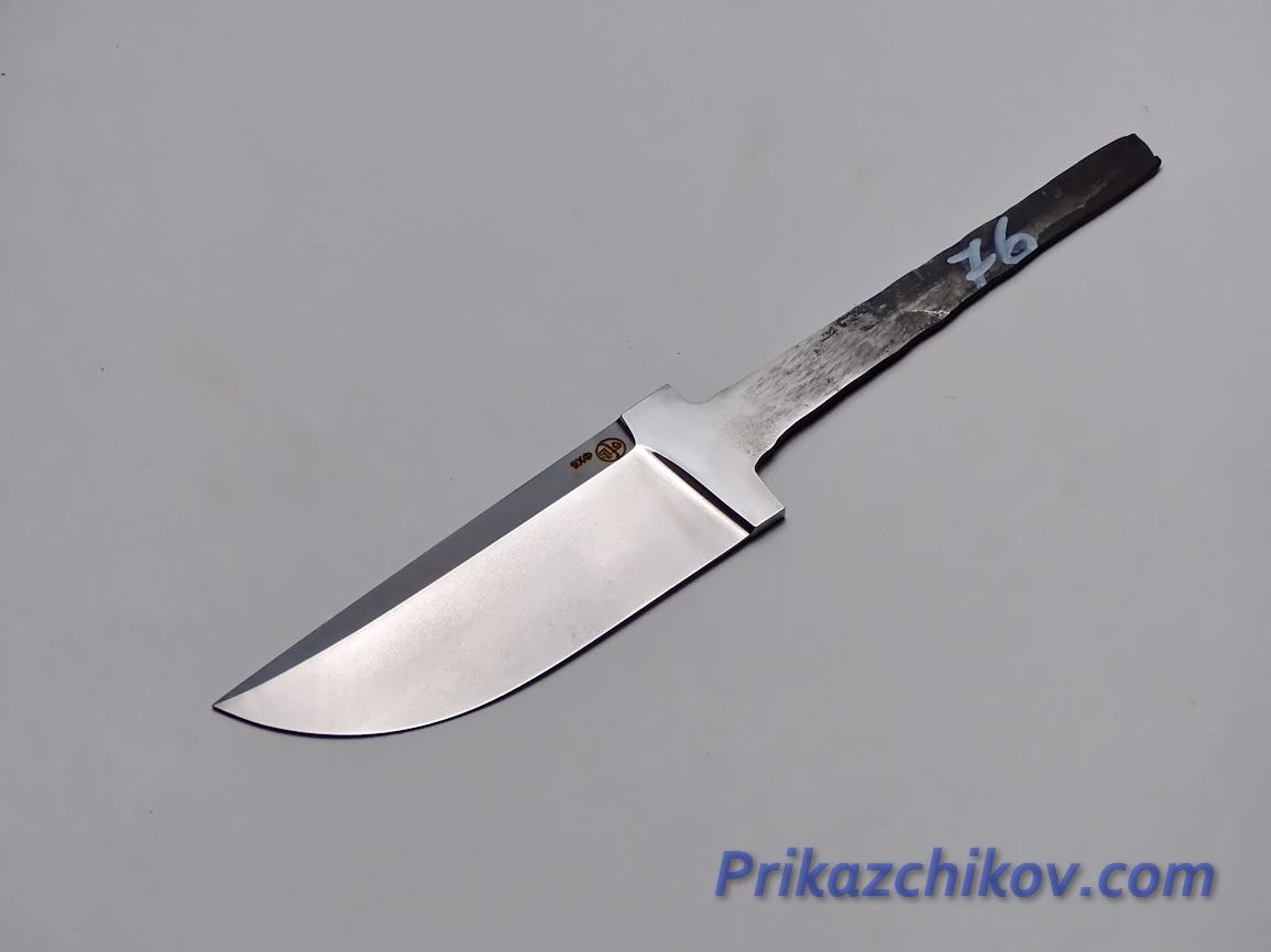 Клинок для ножа из кованой стали 9хф N 76