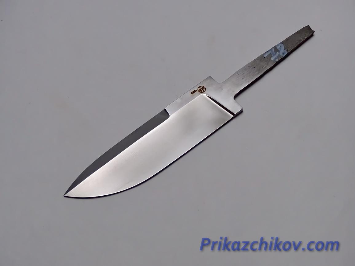 Клинок для ножа из кованой стали 9хф N 78