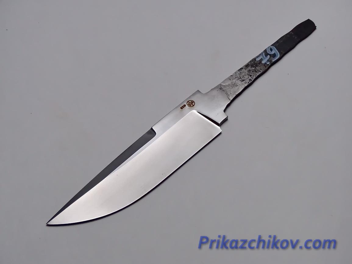 Клинок для ножа из кованой стали 9хф N 79