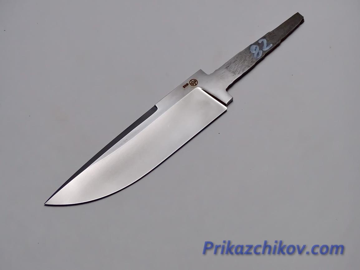 Клинок для ножа из кованой стали 9хф N 82