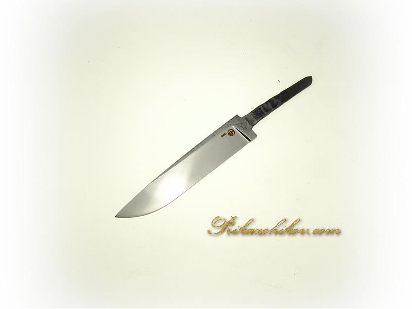 Клинок для ножа из кованой стали 9хс № 143