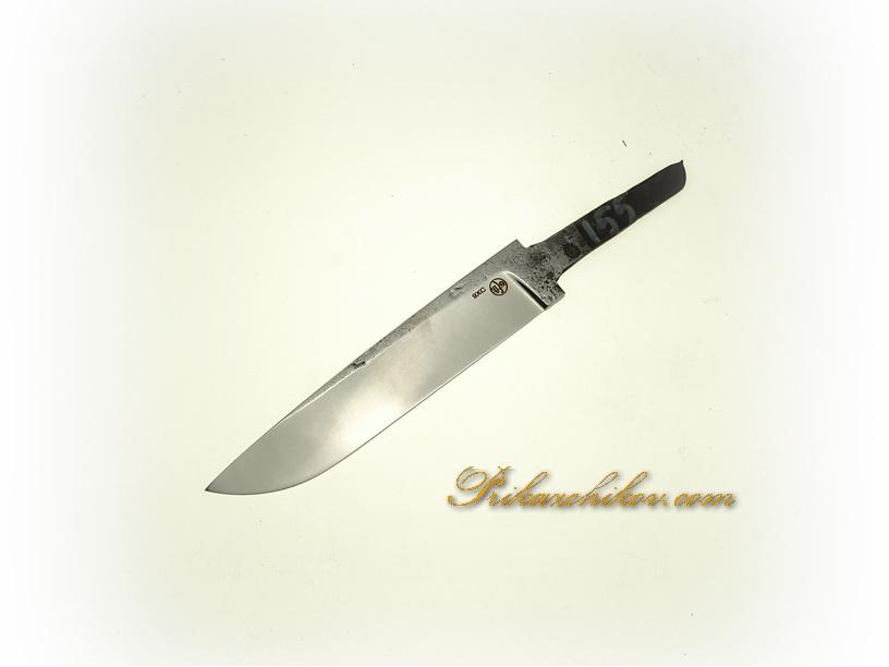 Клинок для ножа из кованой стали 9хс № 155