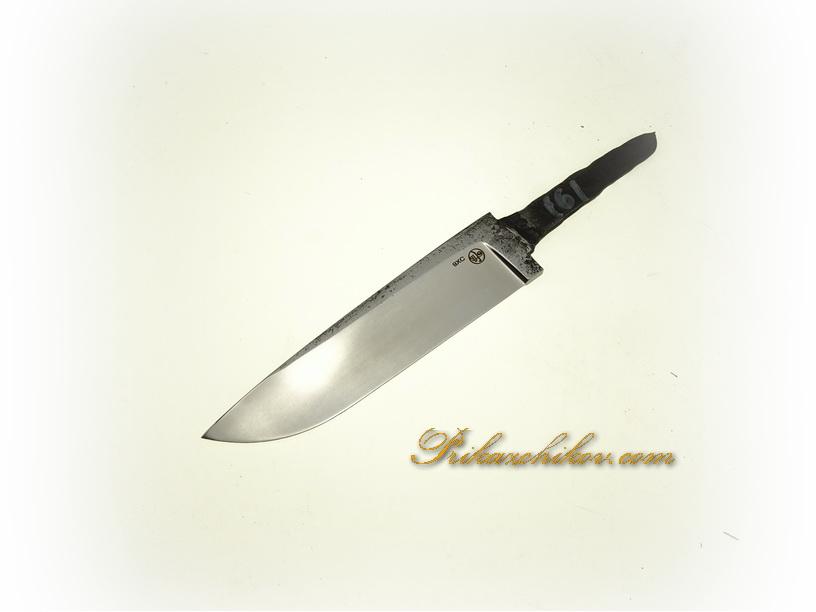 Клинок для ножа из кованой стали 9хс № 161