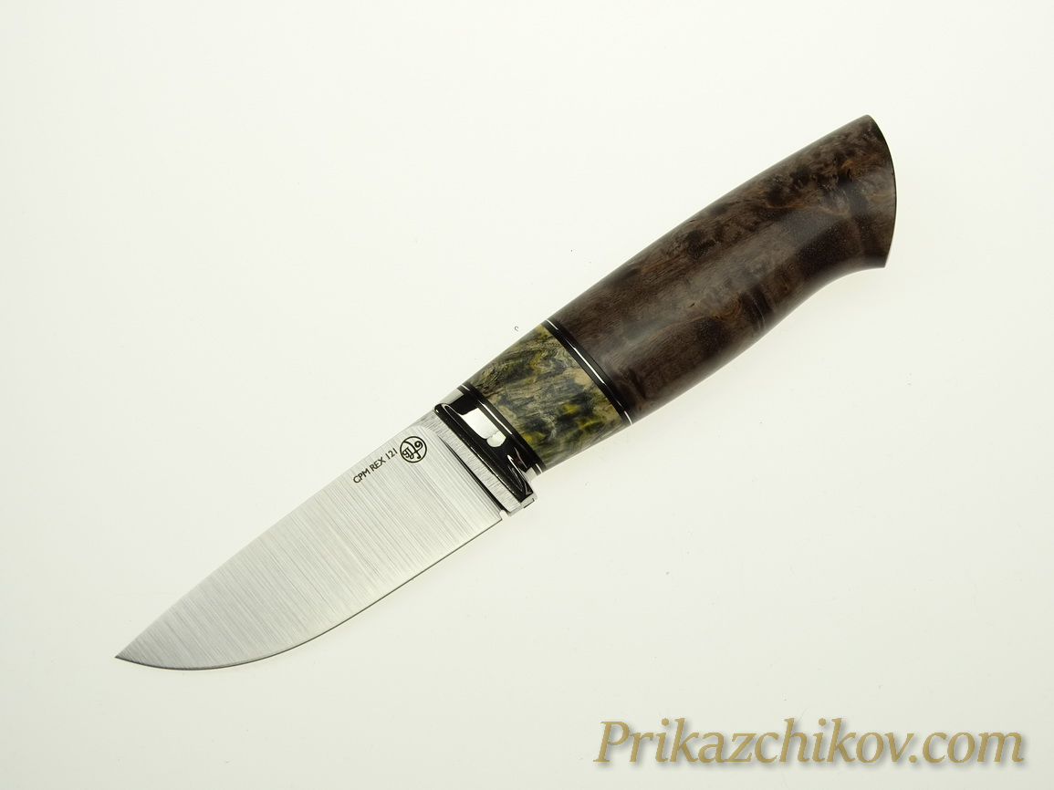 Нож с клинком из стали CPM REX 121 N12