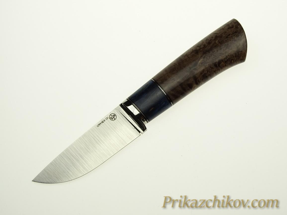 Нож с клинком из стали CPM REX 121 N14