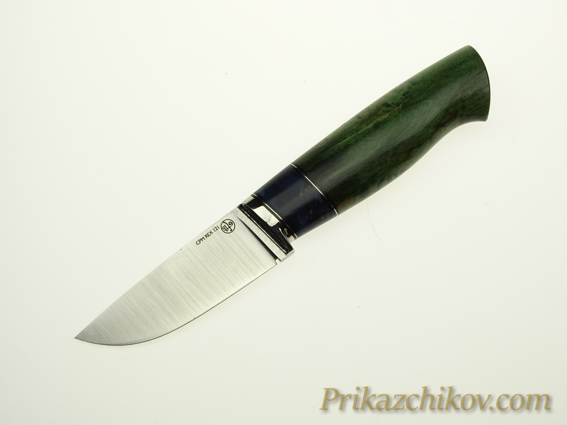 Нож с клинком из стали CPM REX 121 N15