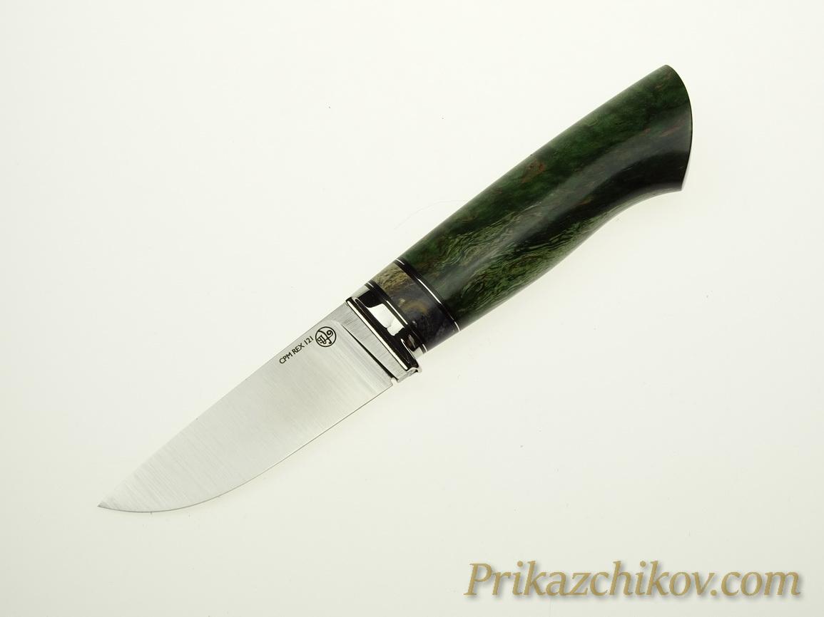 Нож с клинком из стали CPM REX 121 N16