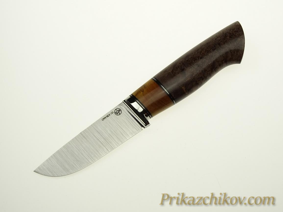 Нож с клинком из стали CPM REX 121 N19
