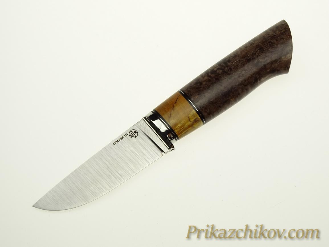 Нож с клинком из стали CPM REX 121 N24
