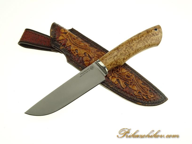 Нож с клинком из стали CPM REX 121 N5