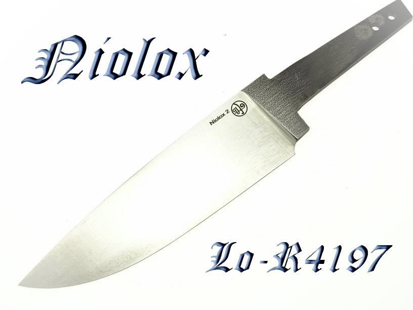 Клинки из стали Niolox 2 (Lo-R 4197)