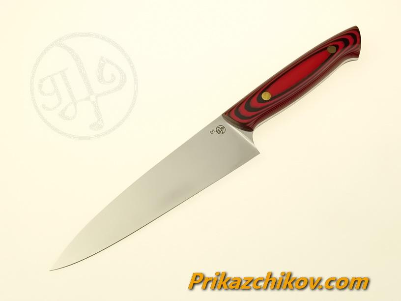 Нож(fultang) из стали D2 «Кухарь» (рукоять — G10)
