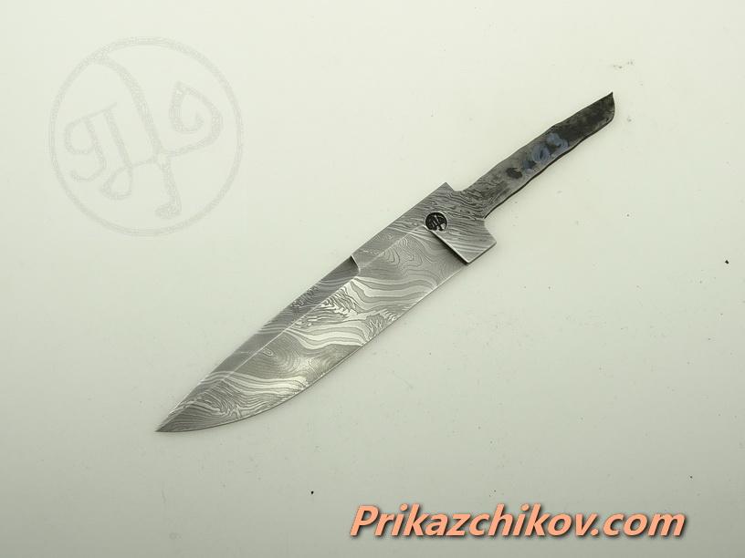 Клинок для ножа из дамасской стали N 103
