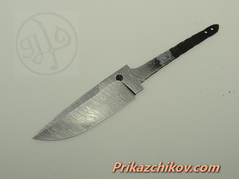 Клинок для ножа из дамасской стали N 20