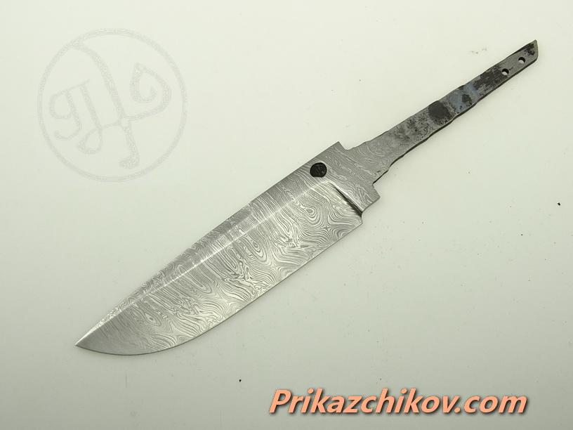 Клинок для ножа из дамасской стали N 89