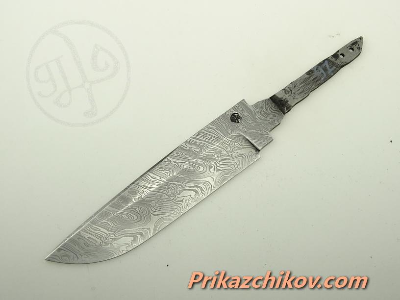 Клинок для ножа из дамасской стали N 97