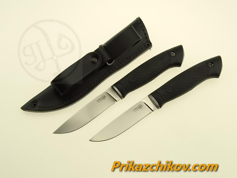 Нож с рукоятью из эластрона «Чирок»