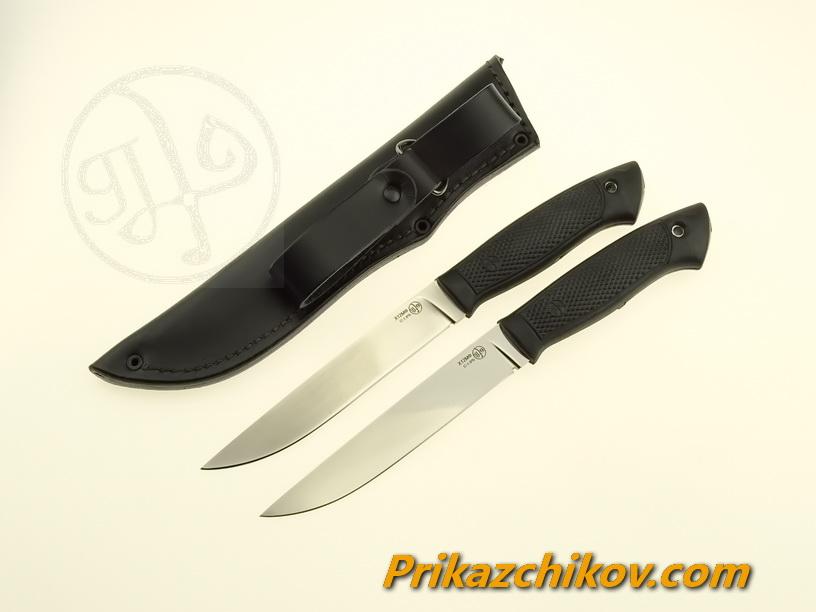 Нож с рукоятью из эластрона «Ласка»