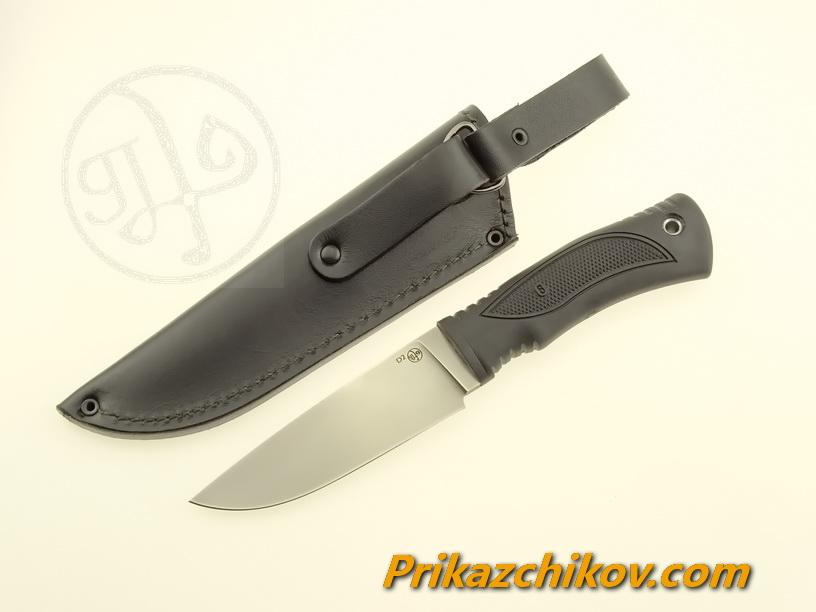Нож с рукоятью из эластрона «Попутчик»