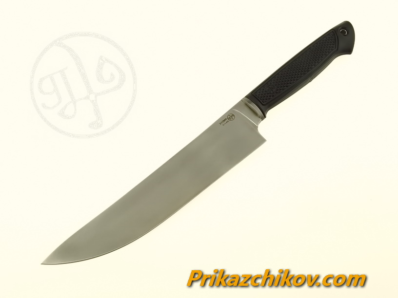 Нож с рукоятью из эластрона «Шеф»
