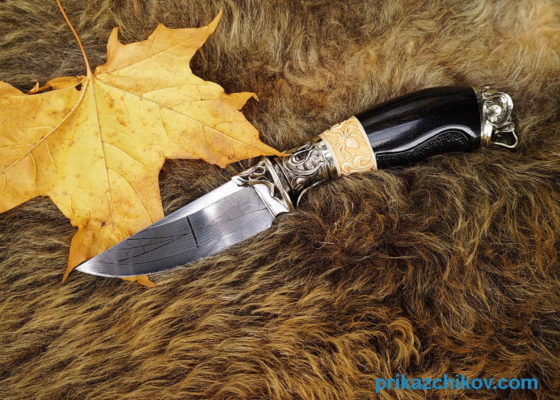 авторский нож приказчикова
