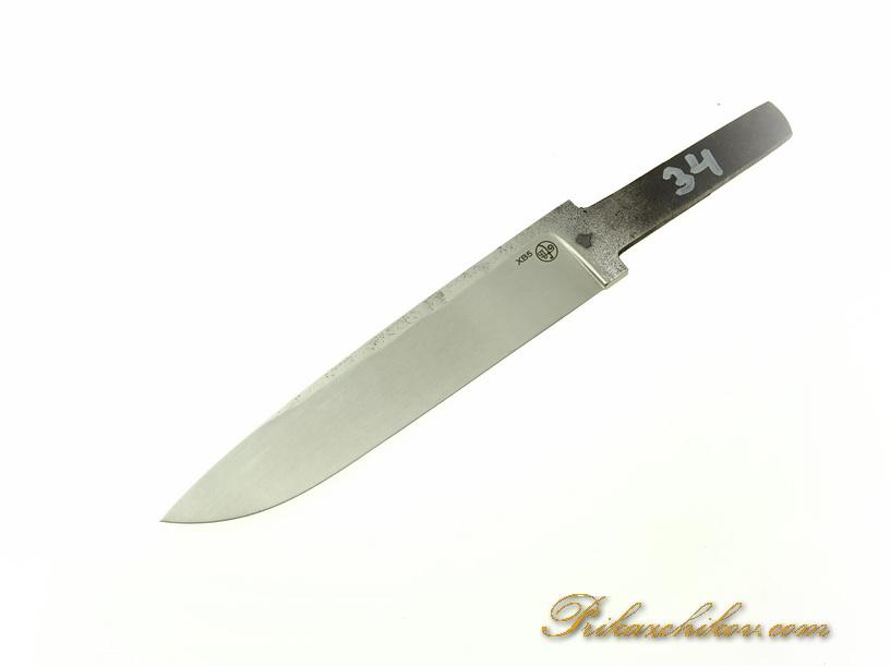 Клинок для ножа из кованой стали хв5 № 34
