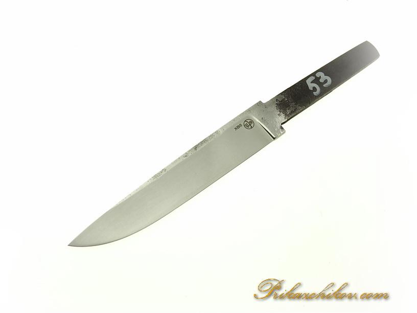 Клинок для ножа из кованой стали хв5 № 53