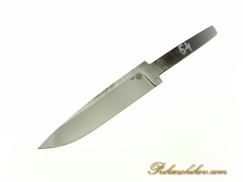 Клинок для ножа из кованой стали хв5 № 54