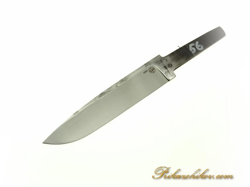 Клинок для ножа из кованой стали хв5 № 56